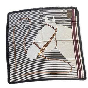 NWT Gucci Equestrian 100% Silk Scarf